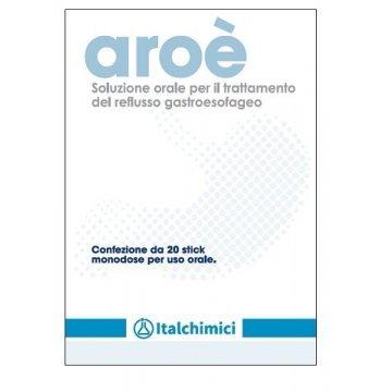 Aroè Soluzione Orale per Reflusso Gastroesofageo 20 stick monodose  10 ml