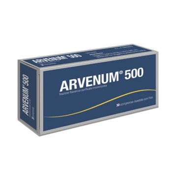 Arvenum 500 Fragilità capillare 30 compresse rivestite