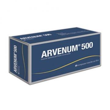 Arvenum 500 Microcircolo 60 compresse rivestite 500mg