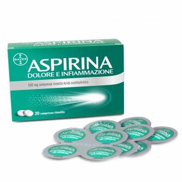Aspirina Dolore e Infiammazione 20 compresse 500 mg