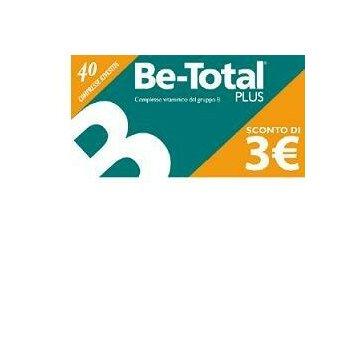 Be-total 40 compresse Integratore Vitamine B Energia per il tuo corpo