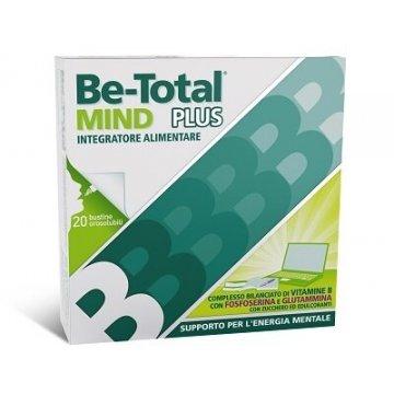 Be-Total Mind Integratore Stanchezza Mentale e Memoria 20 bustine