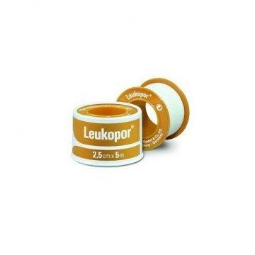 Leukopor Cerotto su Rocchetto 2,5cmx5m Ipoallergenico TNT