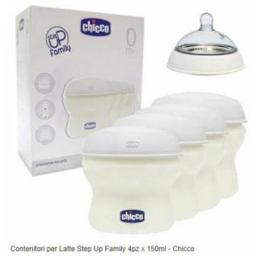 Chicco contenitore latte step up new