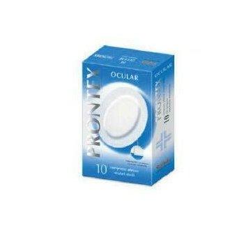 Compressa prontex ocular compressa adesiva oculare 10 pezzi