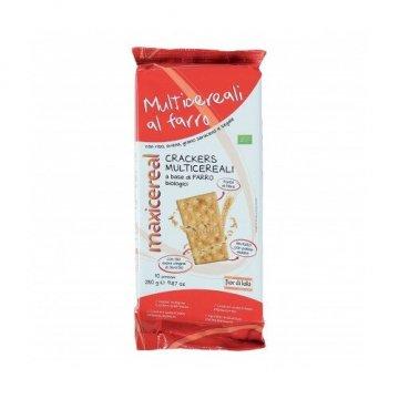 Crackers multicereali bio con lievito madre 280 g