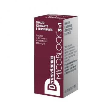 Dermovitamina mico smalto bordeaux 5 ml