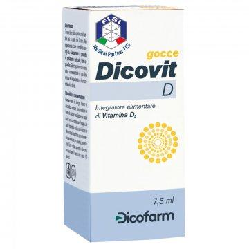 Dicovit d gocce di vitamina d3 7,5 ml