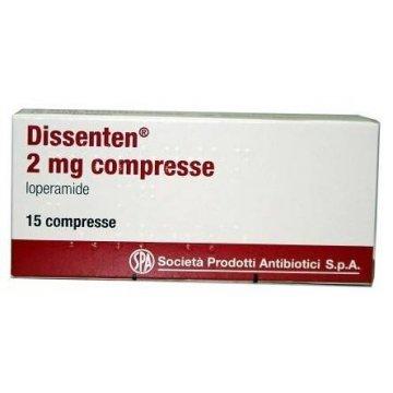 Dissenten anti-diarrea 15 compresse 2 mg