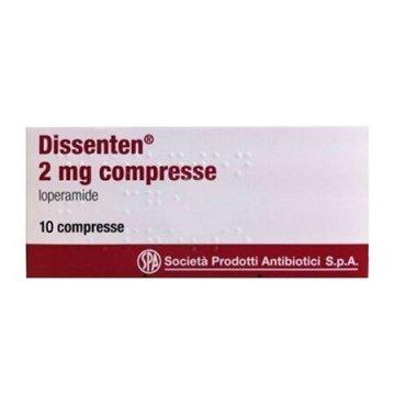 Dissenten 2mg diarrea 10 compresse