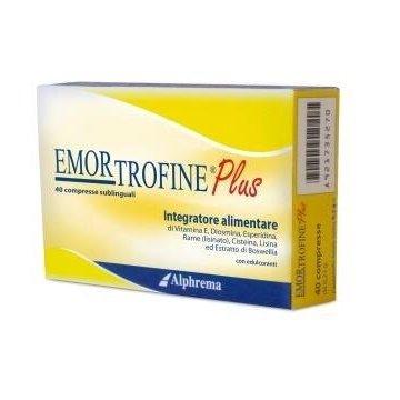 Emortrofine plus per emorroidi 40 compresse