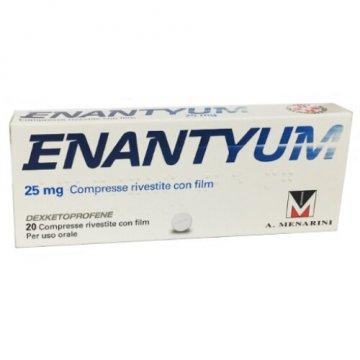 Enantyum 25 mg Antidolorifico e Antinfiammatorio 20 compresse rivestite