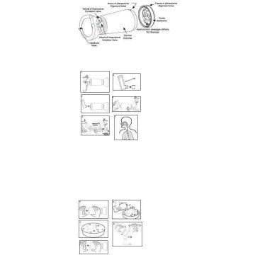 Espace camera distanziatrice per erogatori spray giallo bambini 2-6 anni