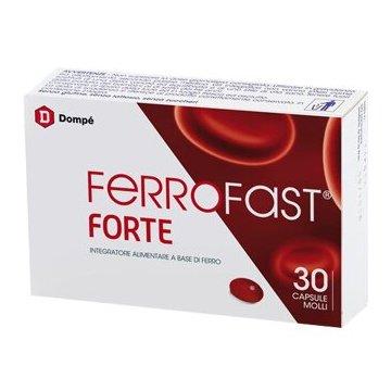 Ferrofast Forte Integratore di Ferro 30 capsule molli