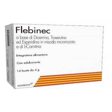 Flebinec Integratore Tono Vasale 14 bustine