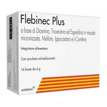 Flebinec Plus Integratore Microcircolo 14 bustine 4 g