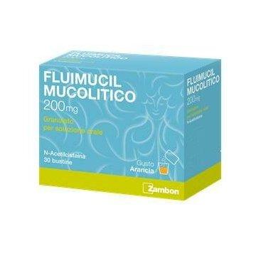 Fluimucil Mucolitico Tosse e Raffreddore 30 bustine da 200 mg