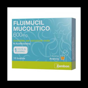 Fluimucil Mucolitico 10 bustine da 600 mg