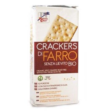 Fsc crackers di farro senza lievito con olio extravergine dioliva bio 280 g