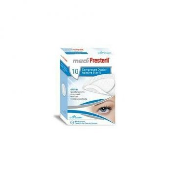 Garza compressa oculare medipresteril adesiva 10 pezzi