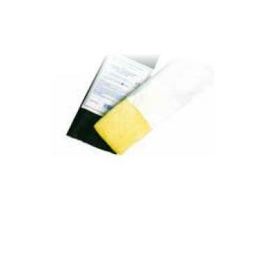 Garza idrofila orlata con iodoformio 12/8 filato 32/40 100 cm