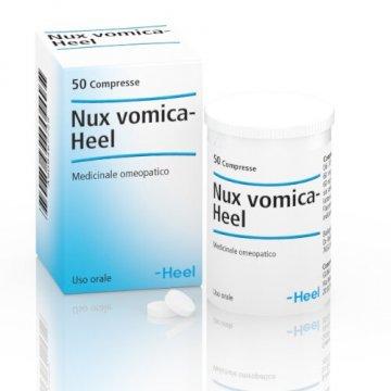 Heel Nux Vomica Acidità e Pirosi Gastrica 50 tavolette