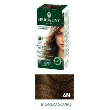 Herbatint 6N Biondo Scuro Tinta Gel Capelli Permanente 135ml