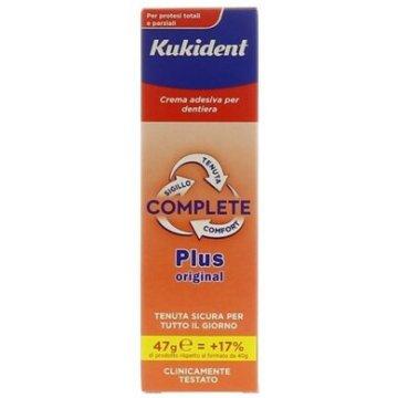 Kukident Plus Complete Crema adesiva per protesi dentali 47 g