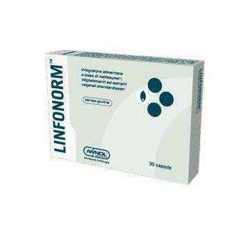 Linfonorm integratore drenante 30 capsule