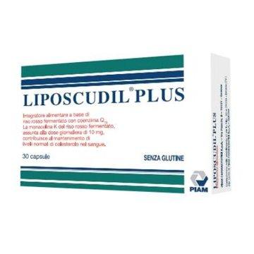 Liposcudil Plus Integratore per Colesterolo 30 capsule