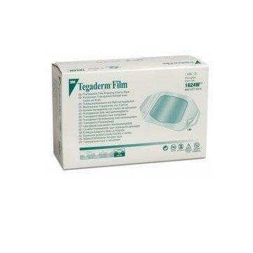 Medicazione trasparente sterile semipermeabile in poliuretano tegaderm film cm10x12 5 pezzi