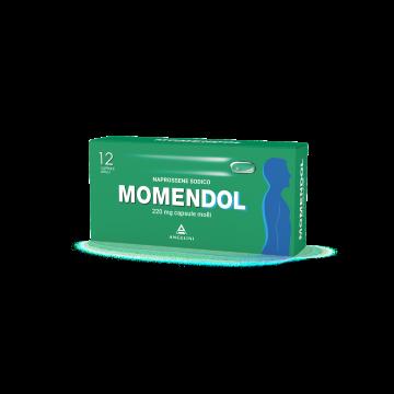 Momendol Naprossene 220 mg Antidolorifico 12 capsule molli