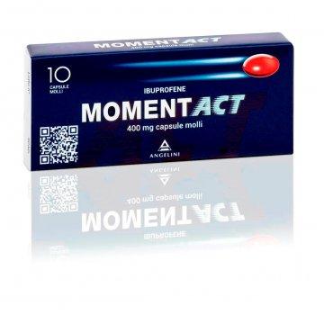 Momentact 400 mg Analgesico 10 capsule molli