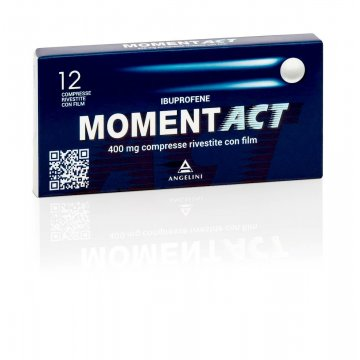 Momentact 400 mg Antifiammatorio e Antidolorifico 12 compresse rivestite