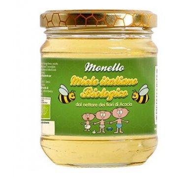 Monello miele biologico di acacia vasetto 250 g