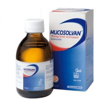 Mucosolvan 15 mg / 5 ml Sciroppo Frutti di Bosco 200 ml