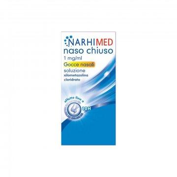 Narhimed Naso Chiuso 1 mg/ml Adulti Gocce Rinologiche 10 ml