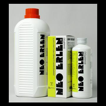 Neoerlen shampoo 1 flacone 200 ml 8 mg/g + 8 mg/g + 32 mg/g