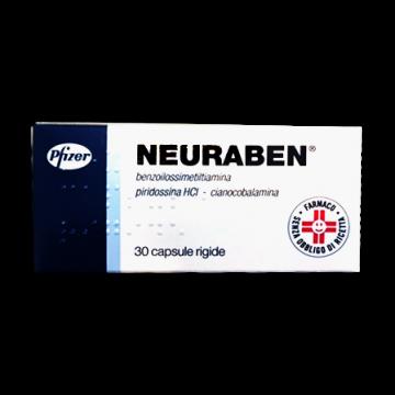 Neuraben 30 capsule da 100 mg Vitamine B1, B6 e B12 30 capsule