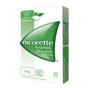 Nicorette stop al fumo 30 gomme masticabili 2mg