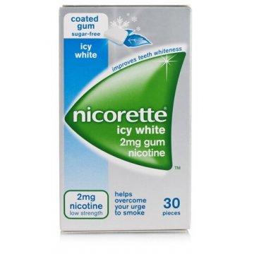 Nicorette 2 mg nicotina menta forte 30 gomme masticabili