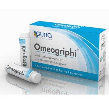 Omeogriphi Globuli Medicinale Omeopatico 6 tubi 1 g
