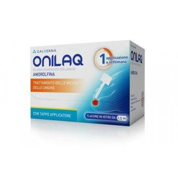 Onilaq Smalto Medicato Micosi Unghie 1 flacone vetro 2,5 ml