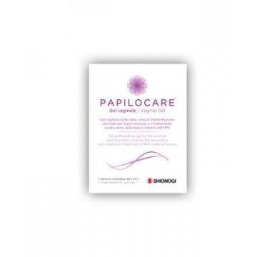 Papilocare Gel Vaginale 7 cannule monodose da 5 ml