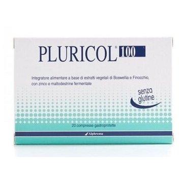 Pluricol 100 infiammazione colon 20 compresse