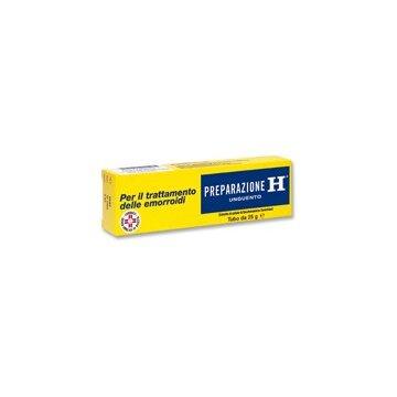 Preparazione H trattamento Emorroidi Unguento 1,08% 25g