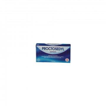 Proctosedyl per emorroidi 6 supposte