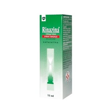 Rinazina 0,1% spray nasale per rinite 15ml