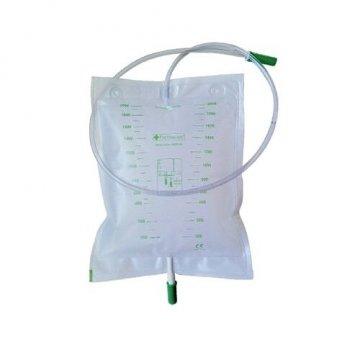 Farmac-Zabban Sacca Raccolta Urina Tubo 130cm con scarico 2 litri