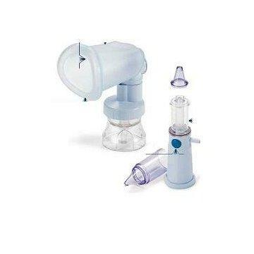 Sistema modulare nebula spacer per l'apparato bronco polmonare con maschera buccale e ampolla